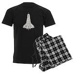 Shuttle Atlantis Men's Dark Pajamas