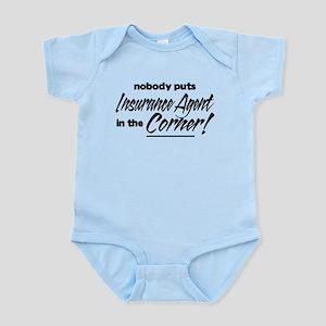 Insurance Nobody Corner Infant Bodysuit