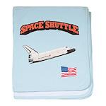 Shuttle Orbiter baby blanket