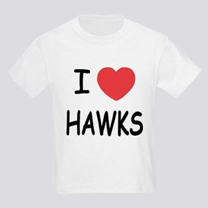 I heart hawks Kids Light T-Shirt