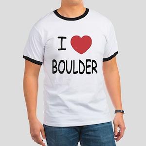 I heart Boulder Ringer T