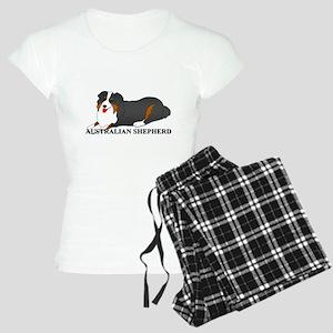 Australian Shepherd Dog Women's Light Pajamas