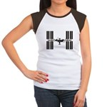 Space Station Women's Cap Sleeve T-Shirt