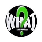 "Radio WHAT 3.5"" Button (100 pack)"