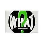 Radio WHAT Rectangle Magnet (100 pack)