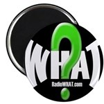 "Radio WHAT 2.25"" Magnet (100 pack)"