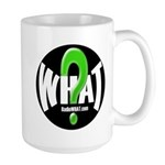 Radio WHAT Large Mug