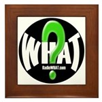 Radio WHAT Framed Tile