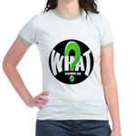 Radio WHAT Jr. Ringer T-Shirt