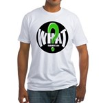 Radio WHAT Fitted T-Shirt