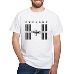ISS / Explore White T-Shirt