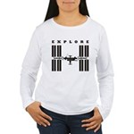 ISS / Explore Women's Long Sleeve T-Shirt