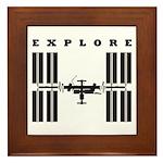 ISS / Explore Framed Tile