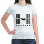 ISS / Outpost Jr. Ringer T-Shirt