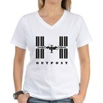 ISS / Outpost Women's V-Neck T-Shirt