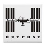 ISS / Outpost Tile Coaster