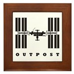 ISS / Outpost Framed Tile
