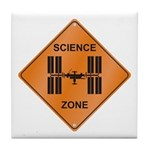 ISS / Science Zone Tile Coaster