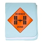 ISS / Science Zone baby blanket