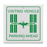 Visiting Vehicle Tile Coaster