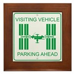 Visiting Vehicle Framed Tile