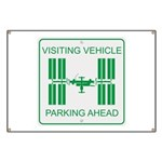 Visiting Vehicle Banner