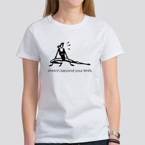 stretch beyond your limits Women's T-Shirt