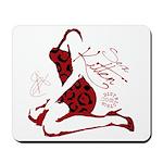 COOL GIRL POP ART Mousepad