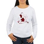 COOL GIRL POP ART Women's Long Sleeve T-Shirt