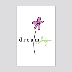 dream big Mini Poster Print