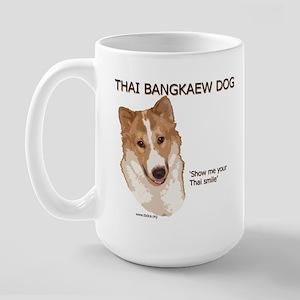 Thai Bangkaew Dog Large Mug
