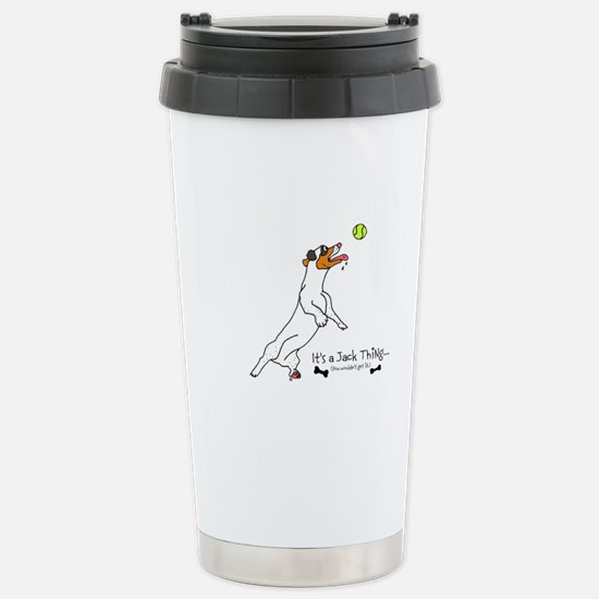 It's a Jack Stainless Steel Travel Mug
