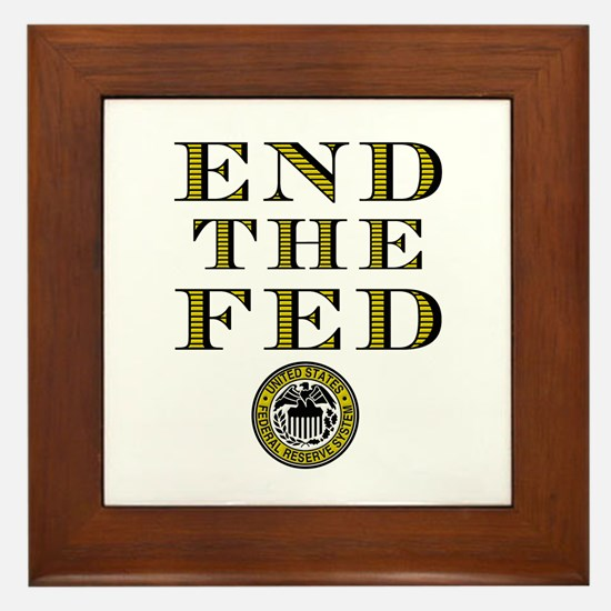 End the Fed Occupy Wall Street Protests Framed Til