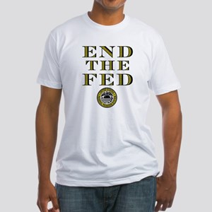 End the Fed Occupy Wall Street Protests Fitted T-S