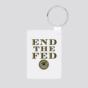 End the Fed Occupy Wall Street Protests Aluminum P