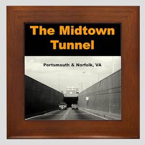Midtown Tunnel Framed Tile