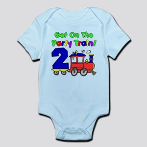 Party Train Two Year Old Infant Bodysuit