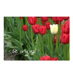 Be original (tulips) Postcards (Package of 8)