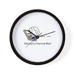 Albany's Internet Mall Wall Clock
