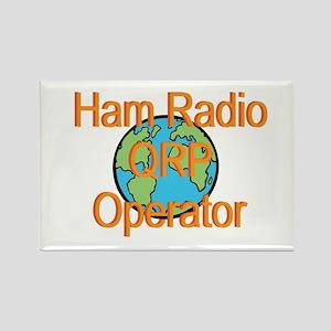 Ham Radio QRP Operator Rectangle Magnet
