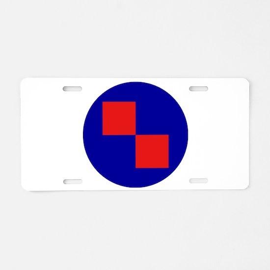 Croatia Roundel Aluminum License Plate