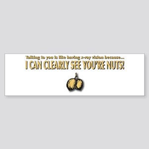 Nuts Sticker (Bumper)