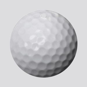 Golf Ball Ornament (Round)