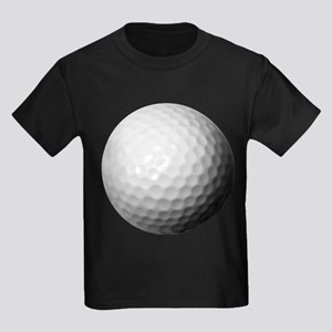 Golf Ball Kids Dark T-Shirt