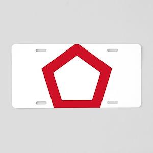 Indonesia Roundel Aluminum License Plate