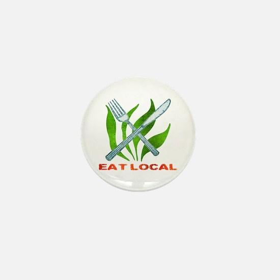 Eat Local Mini Button