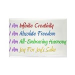 What I Really Am Rectangle Magnet (10 pack)