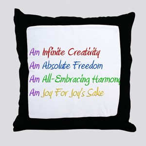 What I Really Am Throw Pillow