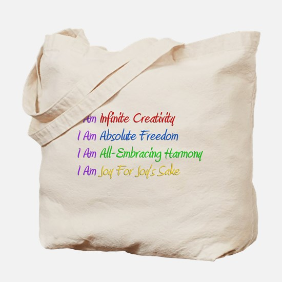 What I Really Am Tote Bag