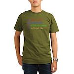 What I Really Am Organic Men's T-Shirt (dark)